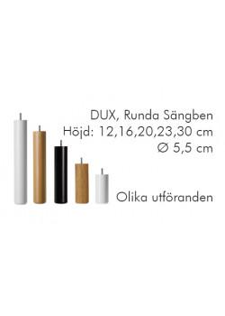 DUX SÄNGBEN RUNDA Ø 5,5 H: 20 CM, 4-PACK